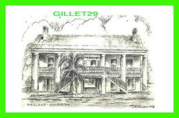 WASHINGTON, LA - MACLAND BUILT BY DR LOUIS A. WEBB IN 1842 - ARTIST IS J. A. ALLEN IN 1973 - - Etats-Unis