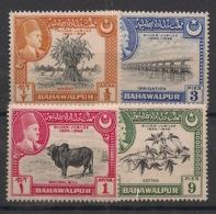 Bahawalpur - 1949 - N°Yv. 18 à 21 - Série Complète - Neuf Luxe ** / MNH / Postfrisch - Bahawalpur