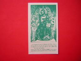 ANCIENNE IMAGE RELIGIEUSE / PIEUSE PRIERE POUR LES MISSIONS  PRIEZ COMMUNIEZ DONNEZ POUR LES MISSIONS - Images Religieuses