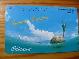 Phonecard Japan 391-166 Okinawa - Japan