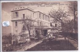 AIX-LES-BAINS- HOTEL LA ROSERAIE- M VARET- PROPRIETAIRE - Aix Les Bains