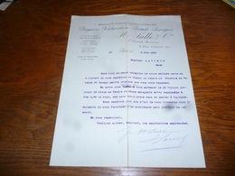 FF5  Document Commercial Facture Droguerie H Salle & Cie Paris 1905 - Belgique