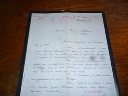 FF5  Document Commercial Facture Sanguinetti Malaga 1904 - Belgique