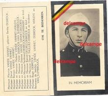 Oorlog Guerre Maurice Vande Vannet Brugge Verzetsman Inspecteur Politie Police Gesneuveld Te Kz Gross Rosen / D 1945 - Images Religieuses