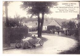 77 Provins - Course Automobiles Du 11.08.1912.  10HP Doriot Flandrin Parant. 70x130.edit Mansion. TBE.non Circulé. - Provins