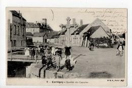 CORBIGNY - 58 - Nièvre - Quartier Des Capucins 1900... - Corbigny