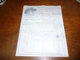 FF5  Document Commercial Facture E Sellier Beaudet Paris 1903 Eaux Oxygénées - Belgique