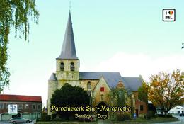 Set 4 Cartes Postales, Bâtiments, églises, Belgium, Baardegem, Parochiekerk Sint-Margaretha - Iglesias Y Catedrales