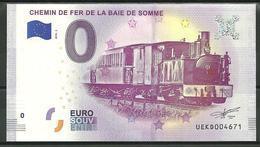 Billet Touristique  0 Euro 2018 Chemin De Fer Baie De Somme - EURO