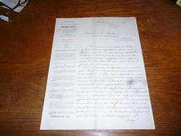 FF5  Document Commercial Facture Solvay Bruxelles 1905 - Belgique