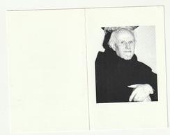Doodsprentje Pater Karel Carolus Peeters Hove 1913 Priester Karmel Missionaris Zaïre Wijtschate 1992 - Images Religieuses