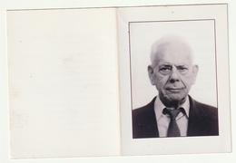 Doodsprentje Andre VANDERLINDEN Broeder Pascal Broeder Van Liefde Nazareth 1916 Gent 2000 Priester - Images Religieuses