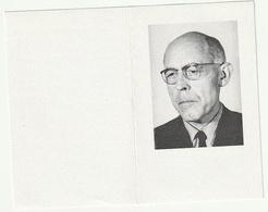 Doodsprentje Broeder Thaddée Maurice Gabriël Broeder Van Scheppers Essen 1913 Mechelen 1998 Priester - Images Religieuses