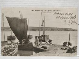 Cale De Port-Manec. Retour De Pêche - Névez