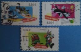 France 2009  : Fête Du Timbre, Looney Tunes N° 4338 à 4340 Oblitéré - France