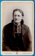 PHOTO Photographie CDV Henry BILLARD 16 ANGOULÊME Charente - Ecclésiastique Curé Abbé Religion Catholique - Old (before 1900)