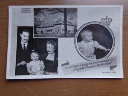 Le Couple Princier Luxembourgeois Et La Petite Princesse Marie Astrid (Chateau De Betzdorf) -> Ne Pas écrit - Luxembourg - Ville