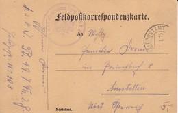 Feldpostkarte K.u.k. Inf Regt Freiherr Von Hess Nr. 49 Nach Amstetten  - 1915 (38799) - 1850-1918 Imperium