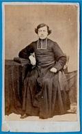 PHOTO Photographie Ancienne CDV Ecclésiastique Prélat Curé Abbé Religion Catholique - Old (before 1900)
