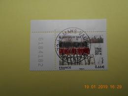 FRANCE 2014   YTN° 4865  MARTYRS DE TULLE    TN Oblitéré  Numéroté - France