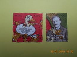 FRANCE 2014   YTN° 4866-4867  Benjamin RABIER (1864-1939)    TN Oblitéré - France