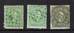 NETHERLAND INDIES...1800's...two Types - Indes Néerlandaises