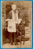 PHOTO Photographie CDV J. DAVID 92 LEVALLOIS 75 PARIS - Ecclésiastique Prélat Curé Abbé Religion Catholique - Old (before 1900)