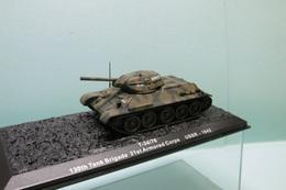 Altaya - CHAR TANK Russe T34/76 130th Tank Brigade 21st Armored Coprs USSR 1942 BO 1/72 - Tanks
