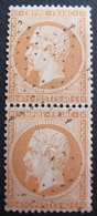 DF50478/70 - NAPOLEON III (PAIRE) N°23 - ETOILES MUETTES DE PARIS - Cote : 35,00 € - 1862 Napoleon III