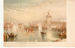 """J.M.W.Turner. The GUIDECCA Venice"" Tuck Art Connoisseur  Turner's Venice Ser. PC # 2515 - Tuck, Raphael"
