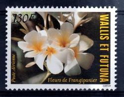 Wallis And Futuna, Flower Of Plumeria (frangipani), 1984, MNH VF  Airmail - Unused Stamps