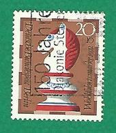 * 1972 N° 400  PIECES DE JEU D'ÉCHECS CAVALIER  OBLITÉRÉ TB - [5] Berlin