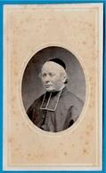 CDV PHOTO Atelier De Photographie PERIN 50 St SAINT-LO Manche  - Ecclésiastique Prélat Curé Abbé Religion Catholique - Old (before 1900)