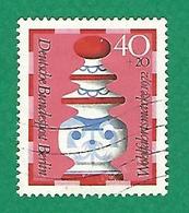 * 1972 N° 402  PIECES DE JEU ÉCHECS  REINE  OBLITÉRÉ TB - [5] Berlin