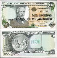 MOZAMBIQUE - 1.000 Escudos Nd.(1976 - Old Date 23.05.1972) UNC P.119 - Mozambique