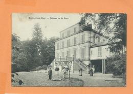 CPA - Macquelines -(Oise) - Château Vu Du Parc - Frankreich