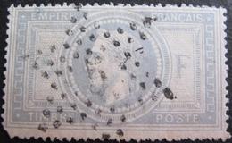 DF50478/73 - NAPOLEON III Lauré N°33 - SUPERBE ETOILE N°6 De PARIS - Cote : 1150,00 € - 1863-1870 Napoléon III Lauré