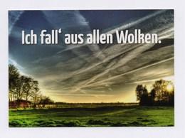 PINAX - Ich Fall' Aus Allen Wolken. Geoengineeringwatch, Chemtrails - Ansichtskarten