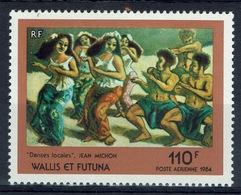 Wallis And Futuna, Painting, J. Michon, 1984, MNH VF  Airmail - Airmail
