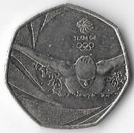 United Kingdom 2016 50p Team GB (A) [C70/1D] - 1971-… : Decimal Coins