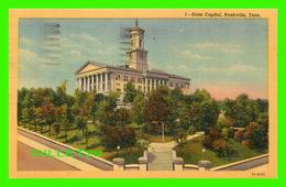 NASHVILLE, TN - STATE CAPITOL -  TRAVEL IN 1953 - CAPITOL NEWS CO - - Nashville