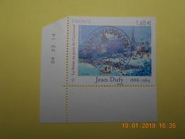 FRANCE 2014   YTN° 4885  JEAN DUFY (1888-1964)   TN Oblitéré  Daté - France
