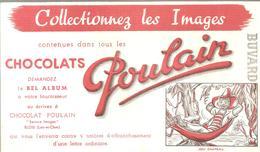 Buvard Poulain Collectionnez Les Images JOLI CHAPEAU - Chocolat