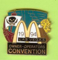 Pin's Mac Do McDonald's Las Vegas Convention Bateau Pirates - 2CC12 - McDonald's
