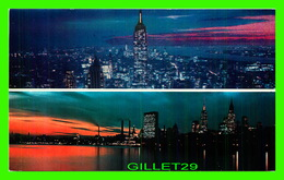 NEW YORK CITY, NY - EMPIRE STATE BUILDING & UNITED NATIONS - - Empire State Building