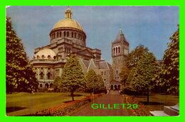 BOSTON, MA - CHRISTIAN SCIENCE CHRUCH - BROMLEY & CO INC - - Boston