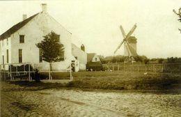 STEENKERKE - Veurne (W.Vl.) - Molen/moulin - Historische Opname Van De Verdwenen Draaibrugmolen, Opgezeild En In Werking - Veurne