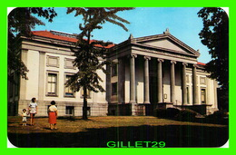 HOLYOKE, MA - HOLYOKE PUBLIC LIBRARY, ANIMATED  - TRAVEL IN 1956 - DEXTER PRESS INC - - Etats-Unis