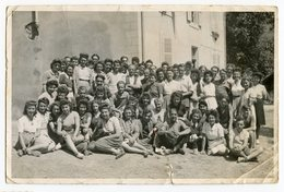Id Mizoën 38 38142 1945 Colonie VACANCES Fille Girl Garçon Boy Women Post WW2 39-45 Liberation - Anonymous Persons