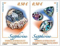 TAAF 2019 - Sapphirine Mnh - Tierras Australes Y Antárticas Francesas (TAAF)